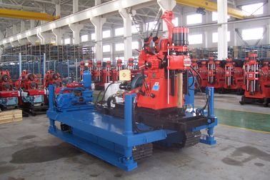 GXY-1 Exploration Drilling Rig , Crawler Drilling Machine For Engineering Prospecting