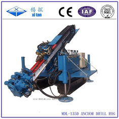 Full Hydraulic Power Head Crawler Anchor Drilling Machines MDL - 135D