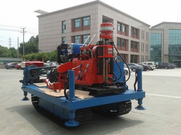 GXY-2KL Spindle Rotary Crawler Drilling Rig Max Torque 2760 N.m , Mobile Drilling Rig